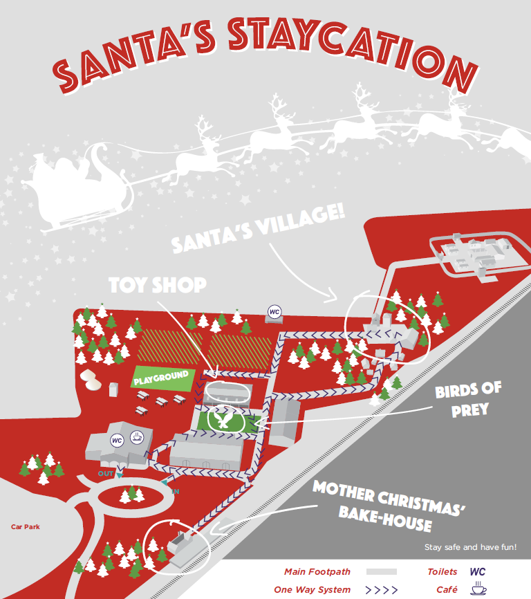 Santa Staycation Murton Park