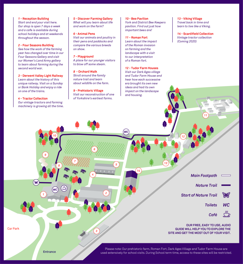 Murton Park Site Map