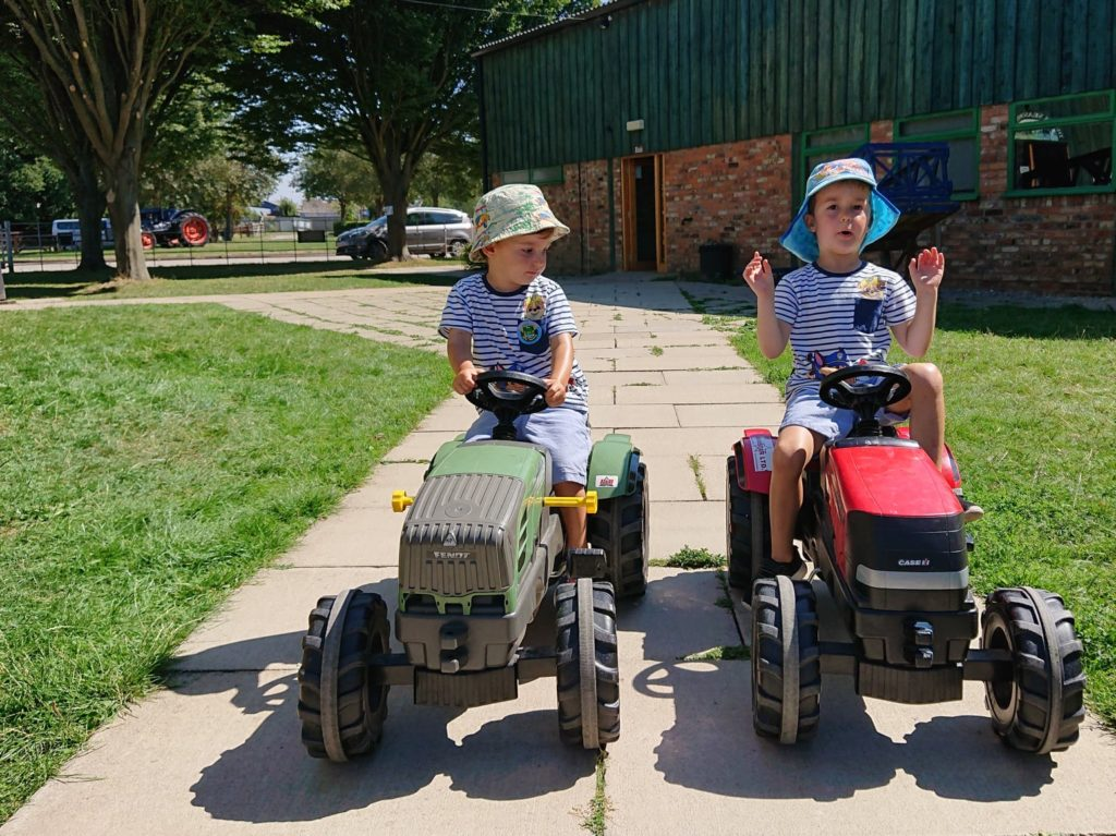 Kids on Tractors Murton Park