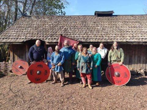 Jorfor's Hall reenactment group